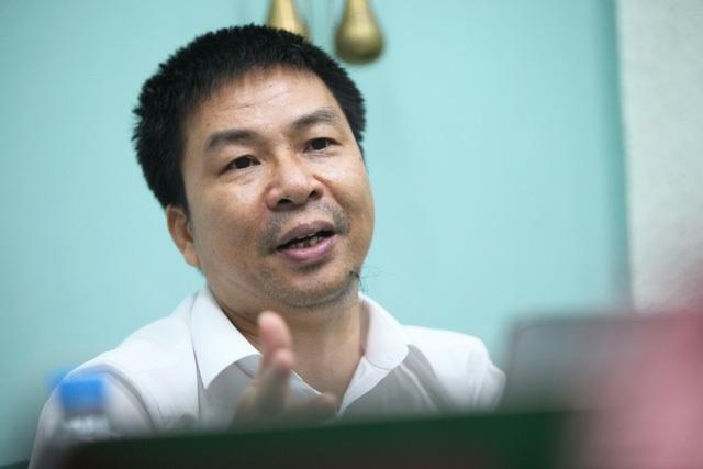Ông Nguyễn Phúc Khoát, BHXH Việt Nam.