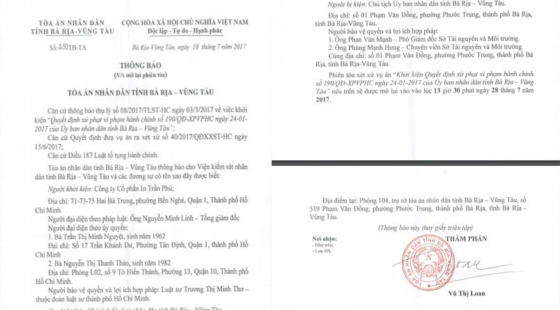Hàng trăm lao động khởi kiện quyết định của UBND tỉnh Bà Rịa - Vũng Tàu! - 1