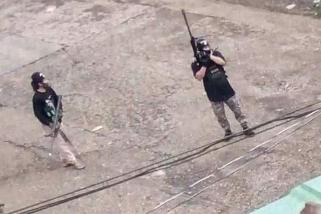 Nhóm phiến quân thân IS tại Philippines (ảnh: Rappler)