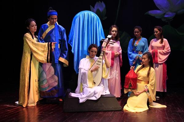 Vở Kiều của Nhà hát Kịch Việt Nam sẽ được biểu diễn trên Nhà hát Lớn Hà Nội vào tối 11 và 12/8.