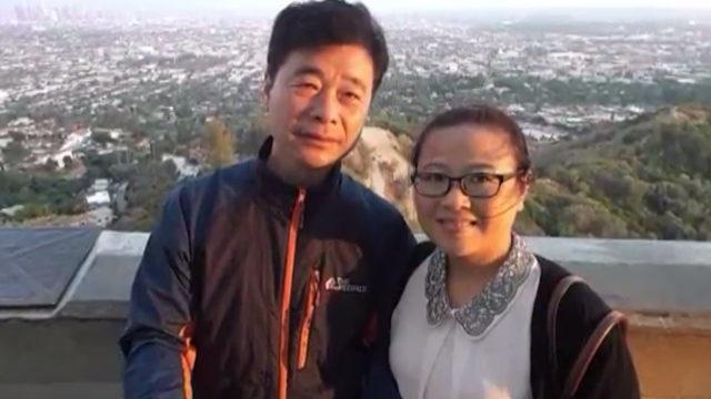Ông Kim Hak Song và vợ. (Ảnh: ABC News)