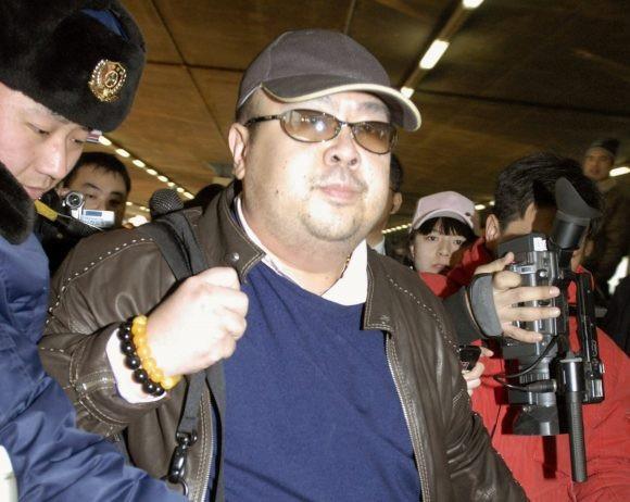 Ông Kim Jong-nam, anh trai cùng cha khác mẹ của nhà lãnh đạo Triều Tiên Kim Jong-un (Ảnh: AFP)