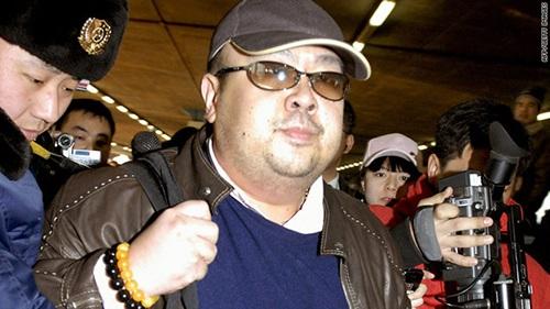Ông Kim Jong-nam xuất hiện tại Bắc Kinh năm 2007. (Ảnh: AFP)
