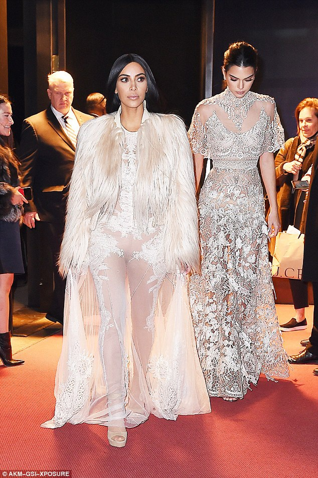 Cô Kim và em gái Kendall sẽ xuất hiện trong phân cảnh họ tham dự buổi tiệc thời trang MET