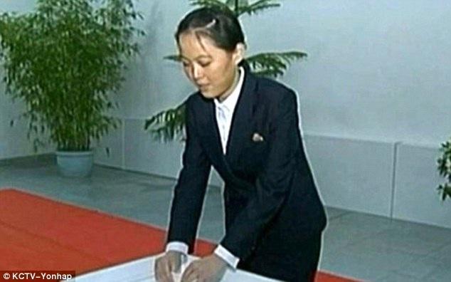 Bà Kim Yo-Jong, em gái nhà lãnh đạo Kim Jong-un (Ảnh: Yonhap)