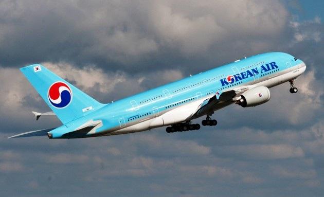 Một máy bay của hãng hàng không Korean Air của Hàn Quốc (Ảnh: Getty)