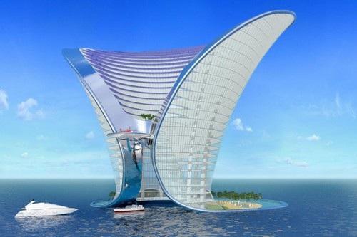 Hình ảnh siêu thực của các siêu khách sạn trong tương lai - 3
