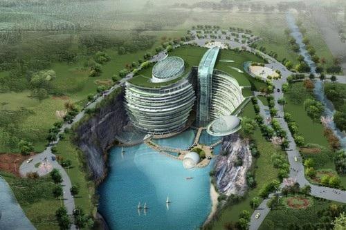 Hình ảnh siêu thực của các siêu khách sạn trong tương lai - 7
