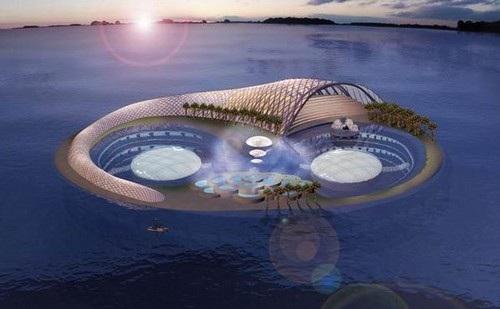 Hình ảnh siêu thực của các siêu khách sạn trong tương lai - 8