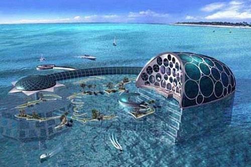 Hình ảnh siêu thực của các siêu khách sạn trong tương lai - 5