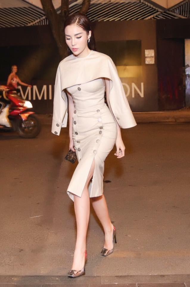 Hoa hậu Kỳ Duyên tái xuất với hình ảnh ngày càng xinh đẹp và sang trọng