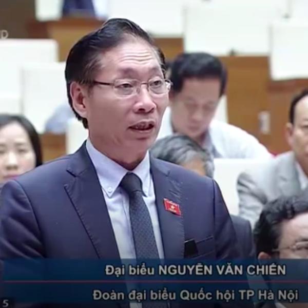 Kỳ án khởi tố xong 14 năm mới tuyên án giữa thủ đô được ĐBQH Nguyễn Văn Chiến nêu công khai tại Quốc hội.