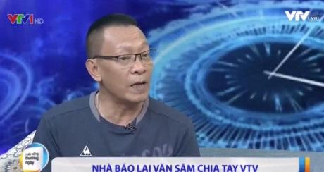 Nhà báo Lại Văn Sâm trong chương trình Cuộc sống thường ngày phát chiều 21/6.