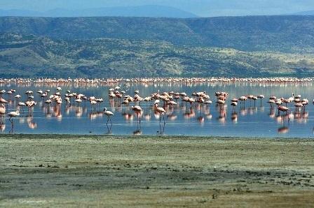 Kỳ lạ những hồ nước đổi màu đẹp đến khó tin trên thế giới - 13
