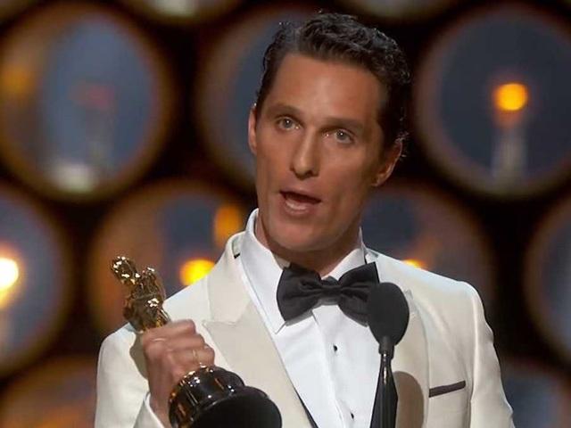Matthew McConaughey - nam diễn viên từng giành giải Oscar cũng tham gia giảng dạy tại trường Đại học Texas.
