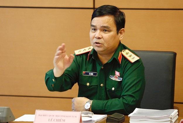 Thượng tướng Lê Chiêm - Thứ trưởng Bộ Quốc phòng