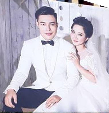 Ảnh cưới của Bảo Lâm và bà xã Quỳnh Anh. Anh hoàn toàn không chia sẻ gì về vợ của mình cũng như chuyện tình cảm nên khi đám cưới diễn ra khiến nhiều người bất ngờ.