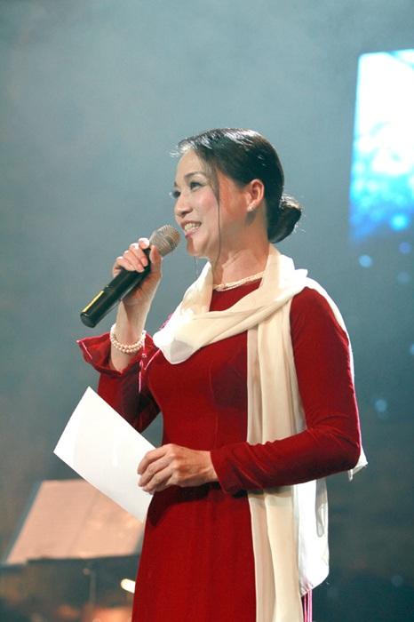 NSND Lê Khanh sẽ đảm nhận vai trò người dẫn chuyện trong 24 buổi biểu diễn của dự án 100 năm âm nhạc Việt Nam. Ảnh: TL.