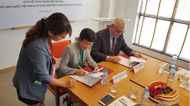 Đại học Anh Quốc Việt Nam trao tặng quỹ học bổng hơn 300 tỷ đồng cho học viên Apollo English - 2