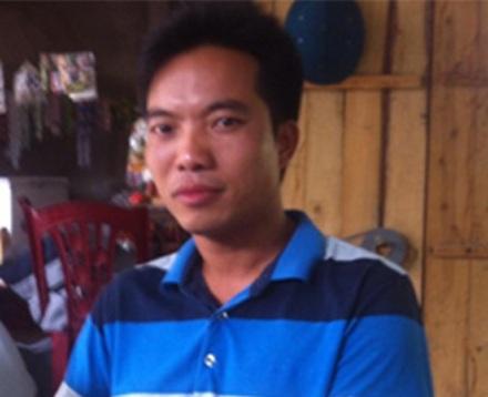 Nghi phạm Lê Xuân Thuận bị cáo buộc là người đã ra tay sát hại ông H. bảo vệ trường THCS.