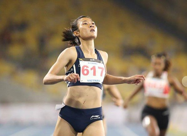 Nữ hoàng tốc độ mới của điền kinh Đông Nam Á - Lê Tú Chinh, người góp phần giúp TTVN thắng lớn ở các môn cơ bản tại SEA Games 29
