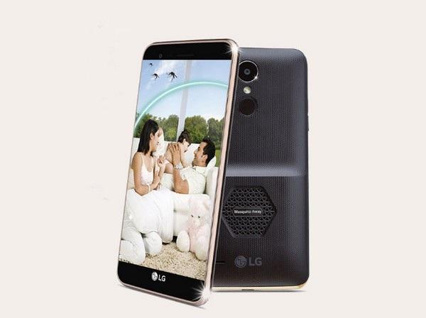LG K7i là smartphone đầu tiên trên thế giới được tích hợp chức năng đuổi muỗi