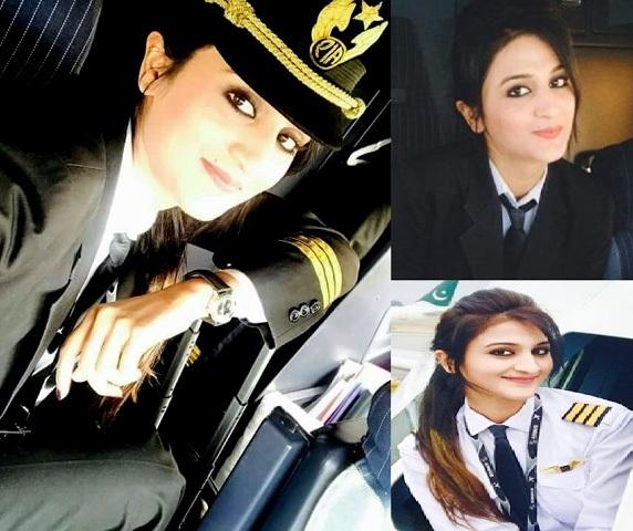 Nữ phi công Pakistan bất ngờ nổi tiếng vì xinh đẹp - 6