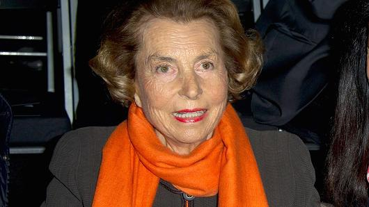 Bà Liliane Bettencourt hồi năm 2012. (Nguồn: Pascal Le Segretain | WireImage | Getty Images)