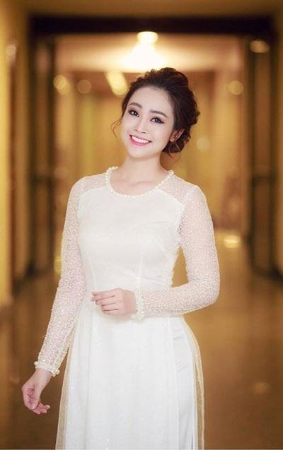 MC Thùy Linh.