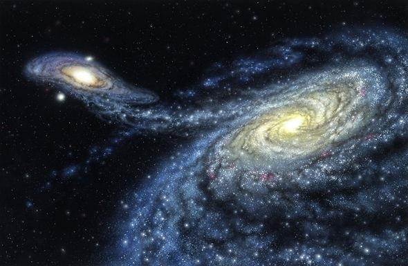 Một ngày nào đó, Andromeda và Dải Ngân hà sẽ va chạm với nhau.