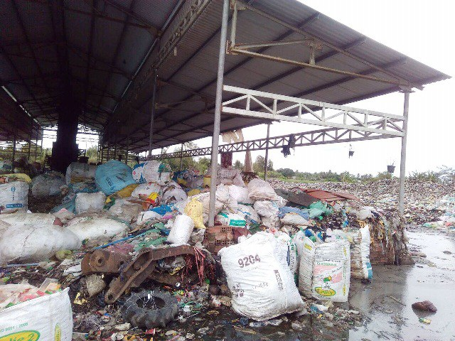 Lò đốt rác huyện Châu Thành...