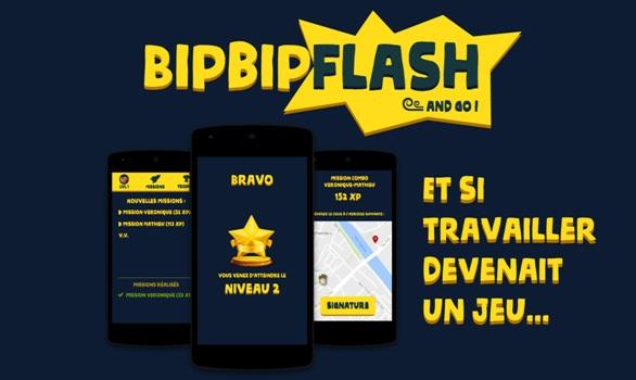 Phần mềm BipBipFlash đưa nhóm Fourmistic tới chiến thắng.