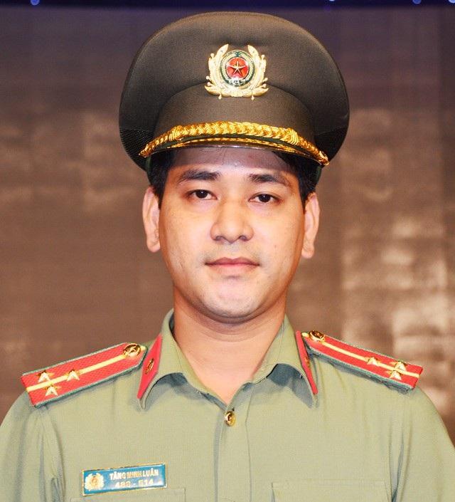 Thượng úy Tăng Minh Luân.
