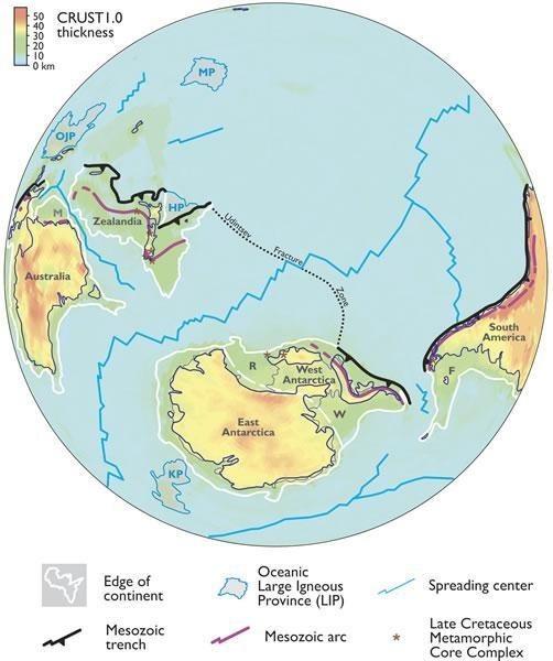 Lục địa này có thể lớn hơn Ấn Độ.