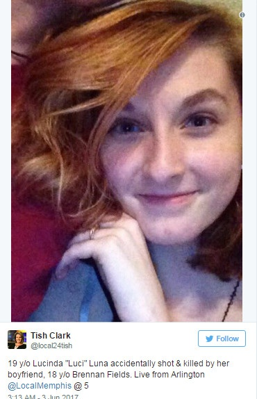Vô tình bắn chết bạn gái 19 tuổi vì chơi súng - 1