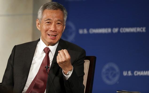 Thủ tướng Singapore Lý Hiển Long (Ảnh: Dailymail)