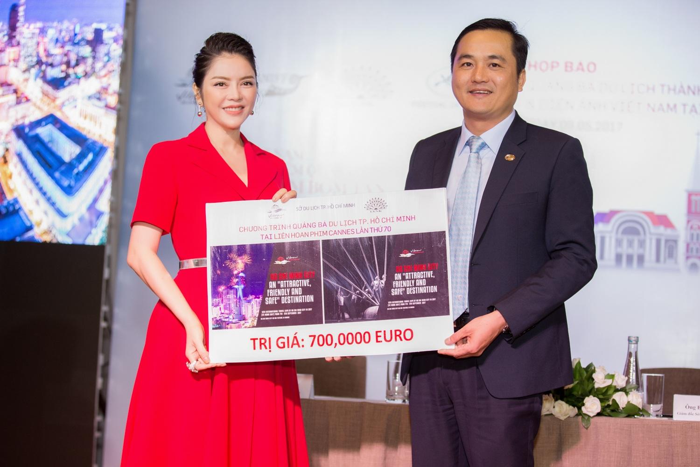 Lý Nhã Kỳ chi 1 triệu euro để đưa hình ảnh Việt Nam đến Cannes 2017 - 6