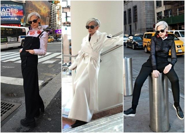 Lyn Slater cho biết, bà đang được làm những gì mình thích và nếu ai đó không ưng mắt với gu thời trang của bà thì đó cũng không phải điều khiến bà bận tâm.