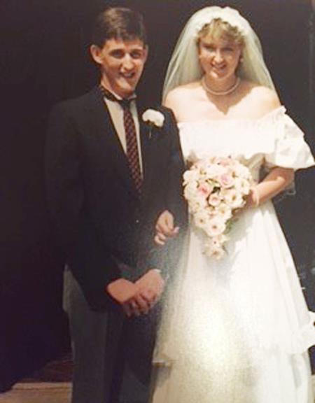 Lynne và Richard kết hôn năm 1986