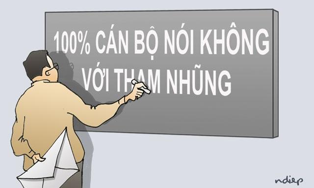 """64 phong bì gần 1 tỉ &""""lời thề 100% không nhận hối lộ""""! - 1"""