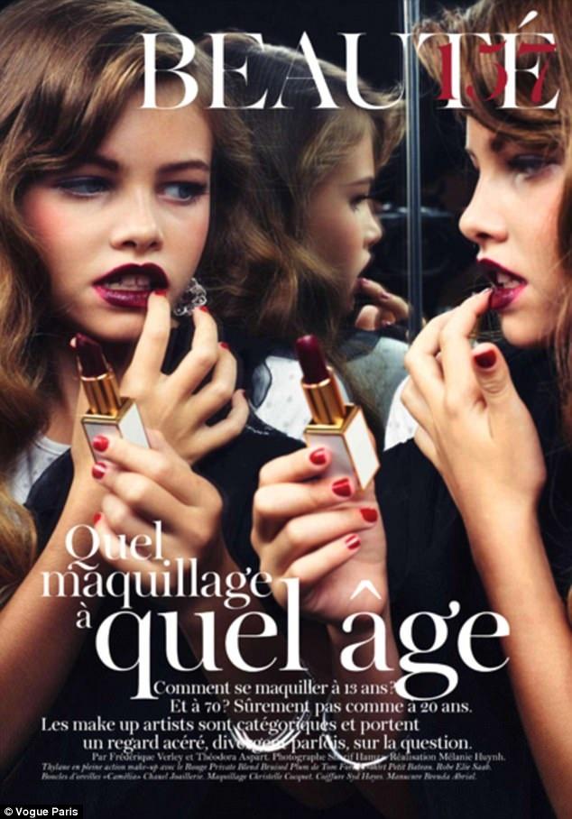 Người đẹp tuổi teen sau đó đã ký được hợp đồng quảng cáo với L'Oreal Paris, ngoài ra cô còn trình diễn cho Chanel, Ralph Lauren, Lacoste...