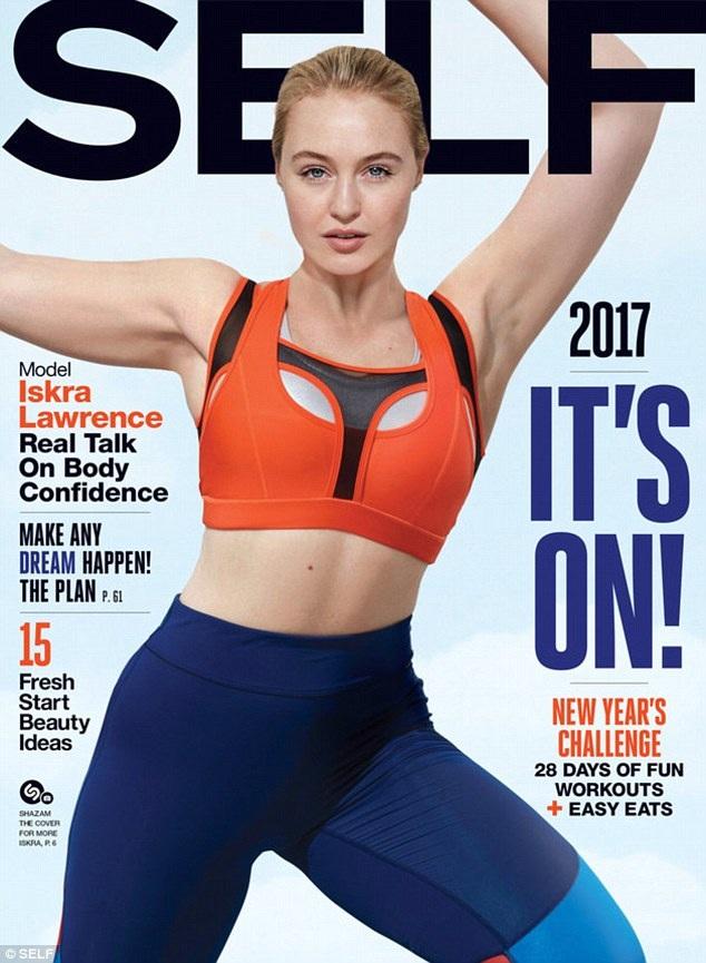 Lawrence đang là người mẫu quảng cáo của hãng American Eagle, mới đây cô xuất hiện cuốn hút trên bìa tạp chí Self.