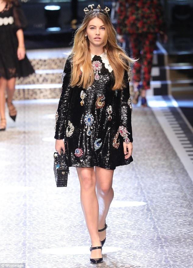 Người đẹp tuổi teen hiện là người mẫu của công ty người mẫu IMG Models. Thylane xuất hiện tại tất cả các tuần lễ thời trang lớn và được diện hàng hiệu từ đầu tới chân.
