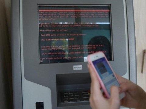 Máy ATM cũng bị lây nhiễm NotPetya và ngừng hoạt động