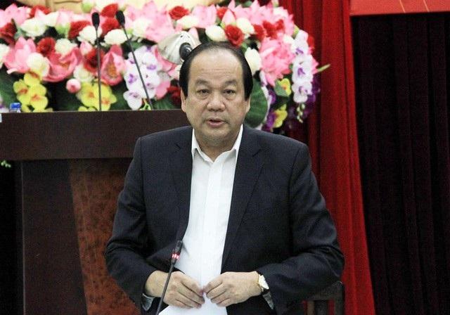 Bộ trưởng - Chủ nhiệm VPCP Mai Tiến Dũng truyền đạt ý kiến của Thủ tướng tại buổi làm việc với Bộ GTVT chiều 30/11