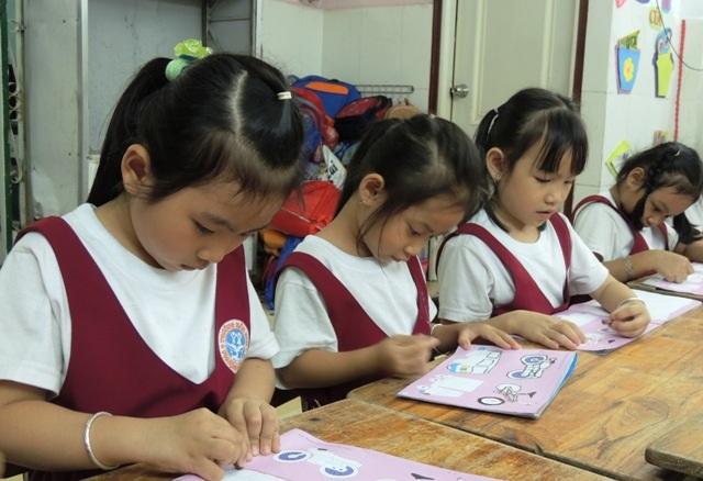 Trẻ mầm non ra lớp ở quận Tân Bình, TPHCM phải nộp giấy sức khỏe trong hồ sơ nhập học. (Ảnh minh họa)