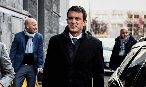 Cựu Thủ tướng Pháp Manuel Valls (Ảnh: AFP)