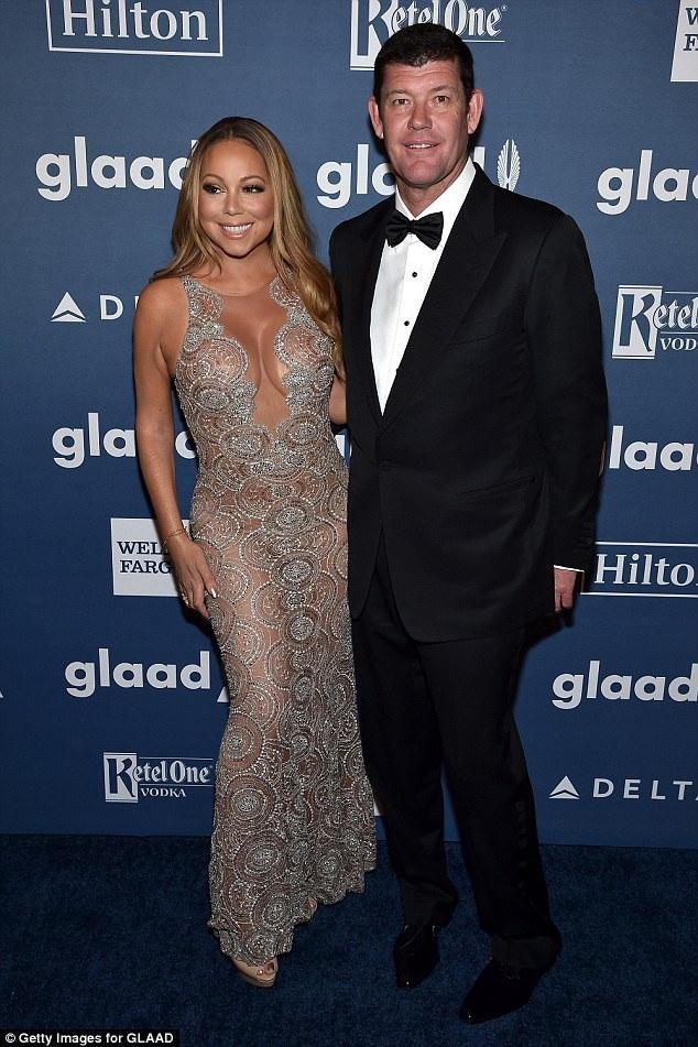 Mariah Carey cũng hủy hôn ước với tỷ phú Úc James Packer hồi tháng 9 năm ngoái.
