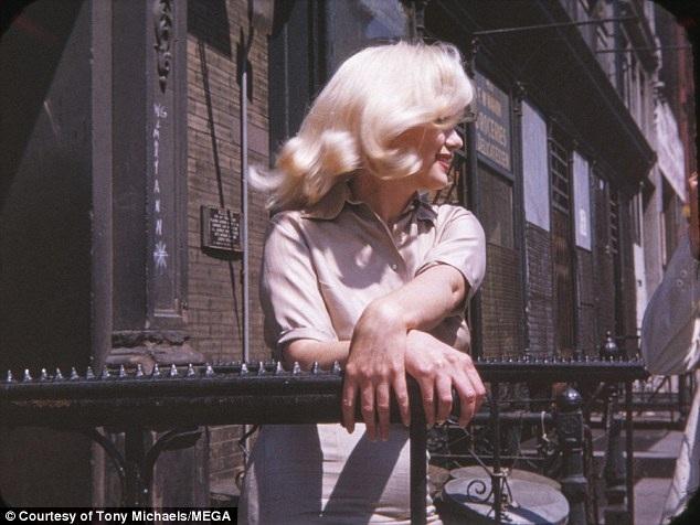Marilyn Monroe trong bức hình do Frieda Hull ghi lại.