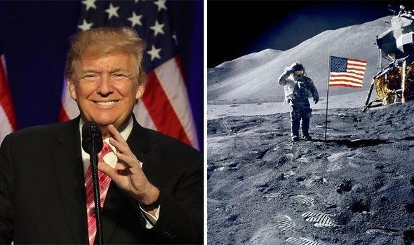 Tổng thống Mỹ DonaldTrump dự kiến sẽ ký sắc lệnh cho thấy Mỹ sẽ đưa phi hành gia trở lại Mặt trăng và cuối cùng là sao Hỏa.